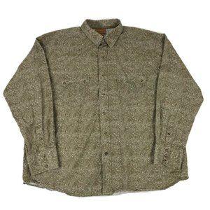 Ariat Paisley Snap Front Long Sleeve Shirt XXL